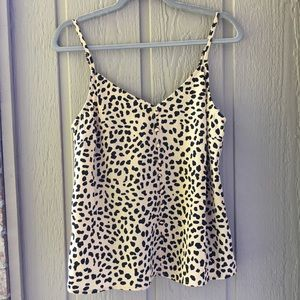 NWT Sanctuary Animal print Camisole tank top